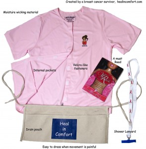 heal in comfort post op kit = up to 30 days of help