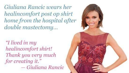 Breast Cancer Recovery Shirts Healincomfort