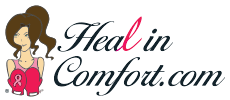 Helping women heal in comfort & dignity after surgery in their battle against breast cancer with post-op recovery healincomfort shirts, shower lanyards & more.