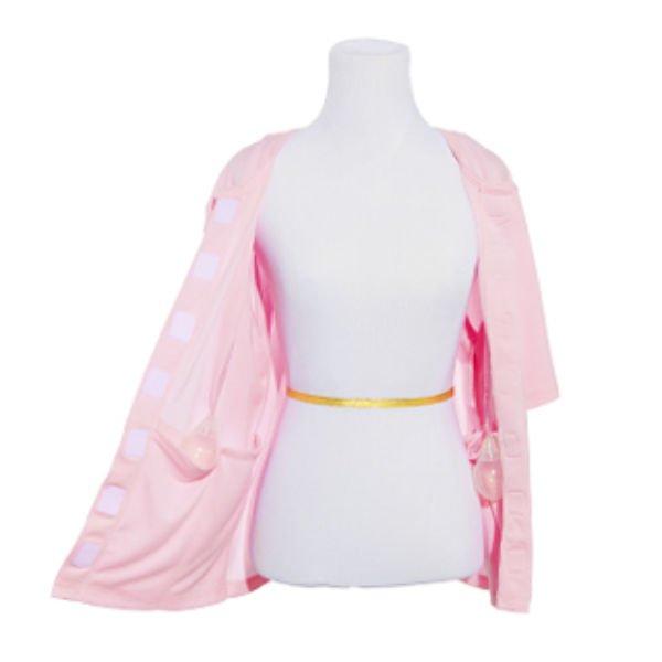 healincomfort recovery shirt - Drain Concealing Pockets - Pink
