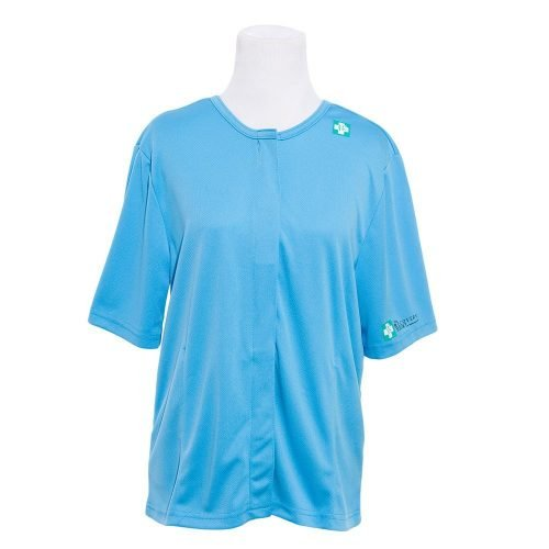 post-mascetomy-recovery-shirt-healincomfort - blue