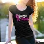 be brave and fight - breast cancer support tees