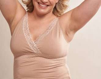 Lisa Wrap Front Wirefree Camisole