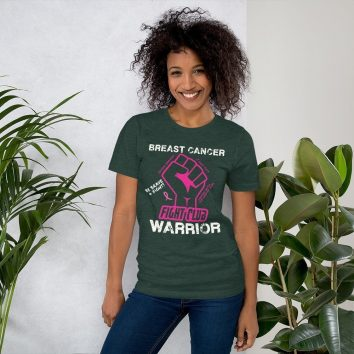 Breast Cancer Warrior Fight Club Heather Forrest