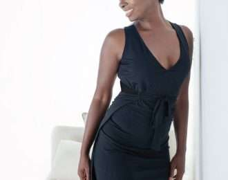 Kara Wrap Dress